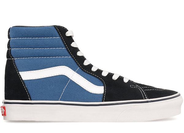 SK8-HI (canvas/suede, two-tone)