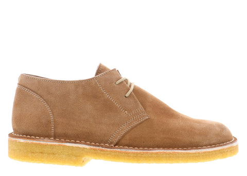 gravitypope suede desert shoe with crepe sole