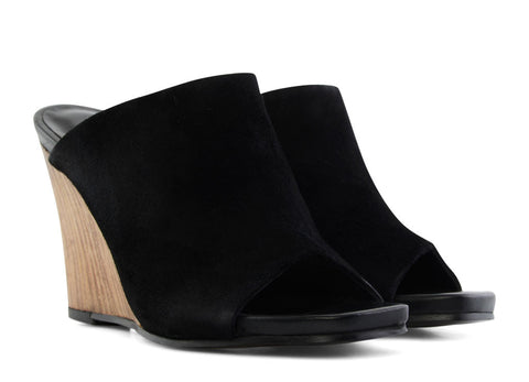 gravitypope - filippa k - MIA WEDGE MULE - WOMEN'S FOOTWEAR