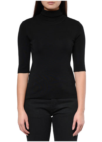 MERINO ELBOW SLEEVE TOP