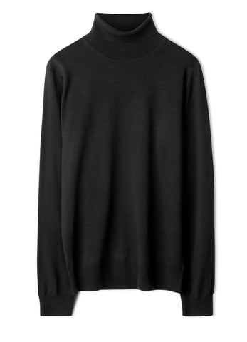 M. MERINO ROLLER NECK SWEATER