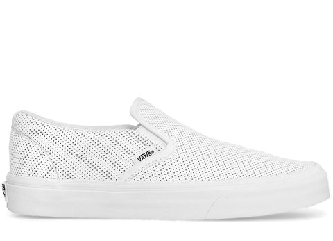 gravitypope - vans - CLASSIC SLIP ON (perforated leather) - Unisex Footwear