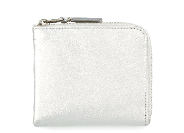 gravitypope - comme des garcons WALLET - SILVER SIDE ZIP - Unisex Accessories