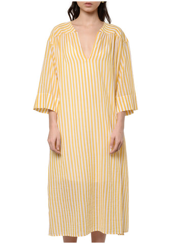 3198 STRIPED SHIRT DRESS