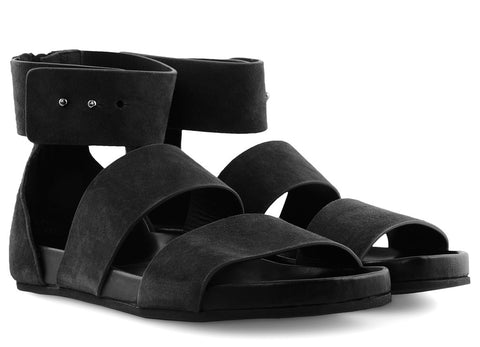 gravitypope - woman by common projects - DOUBLE STRAP ZIP SANDAL - Womens Footwear