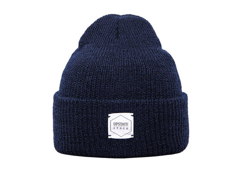 NAVY WATCHCAP