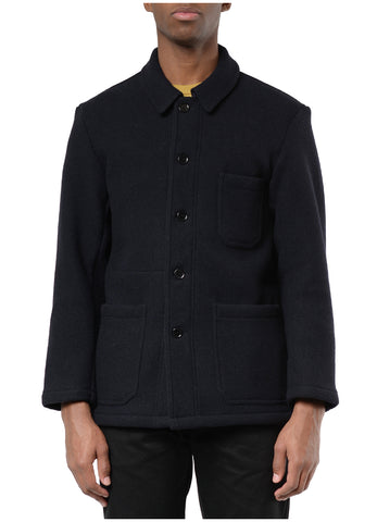 MARINE DOUBLE FACE WOOL JACKET