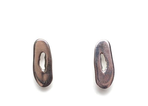 MINI OBLONG STUD EARRINGS