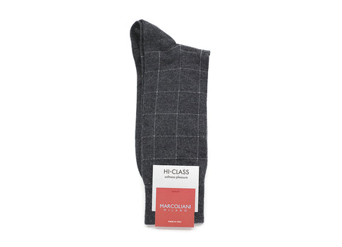 WINDOWPANE SOCKS