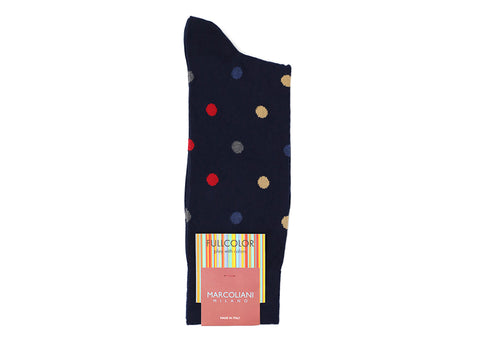 MULTICOLOUR DOTS SOCKS