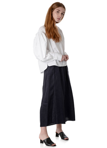 6006 IRIDESCENT LINEN SATIN TROUSERS