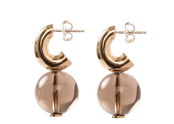 MINI C-CURCE HOOP EARRING