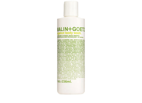 BERGAMOT BODY WASH 8 OZ.