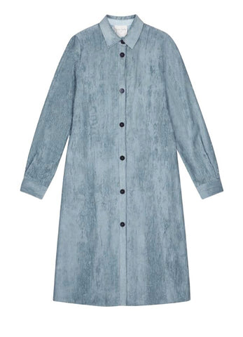 7522 LIGHT FLUID CORDUROY COAT