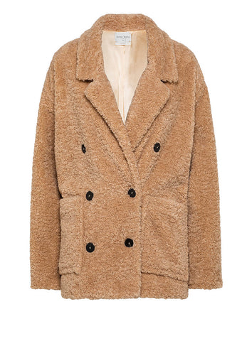 7701 FAUX SHEARLING JACKET