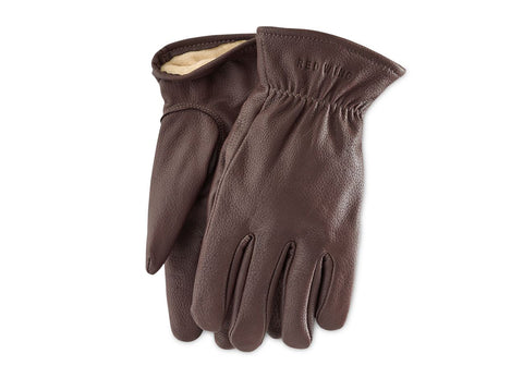 LINED LEATHER GLOVES