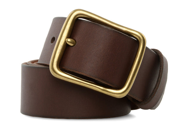 gravitypope - red wing - LEATHER BELT - Mens Accessories