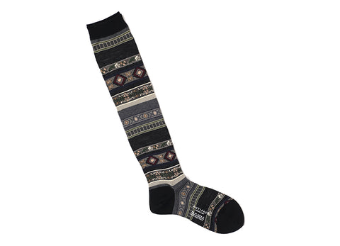TYROLEAN STRIPE TROUSER SOCK