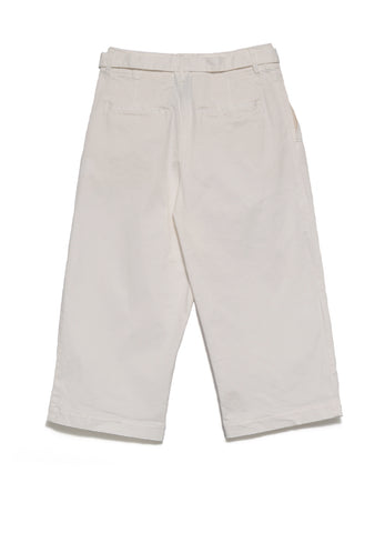 STRETCH CHINO CROPPED PANTS
