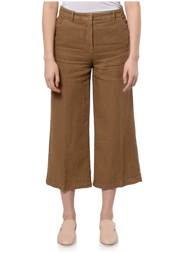 PANTS IN COLOURFUL LINEN