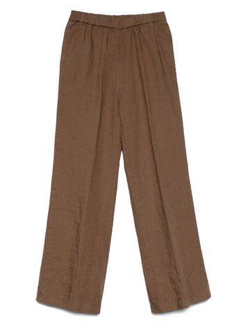 COLORFUL GABARDINE LINEN PANTS