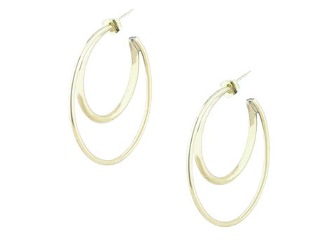 GIO HOOPS EARRINGS
