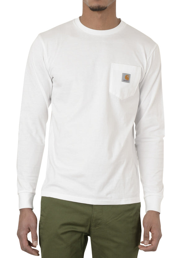 gravitypope - carhartt wip - L/S POCKET T-SHIRT - Mens Clothing
