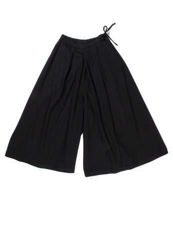COMPRESSED WOOL KIKKOU HAKAMA PANTS