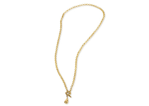 DELICATE DASH NECKLACE GOLD PLATED