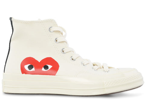 gravitypope - comme des garcons PLAY - HIGH TOP - Unisex Footwear