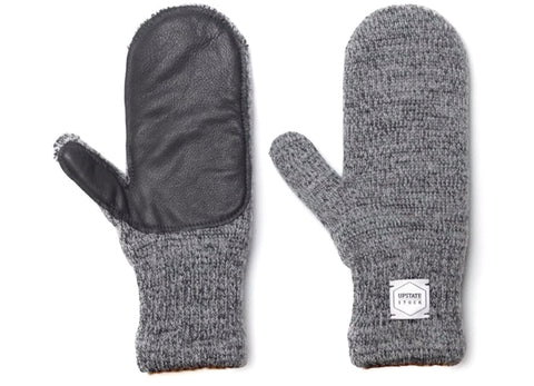gravitypope - upstate stock - DEERSKIN MITTEN - Mens Accessories