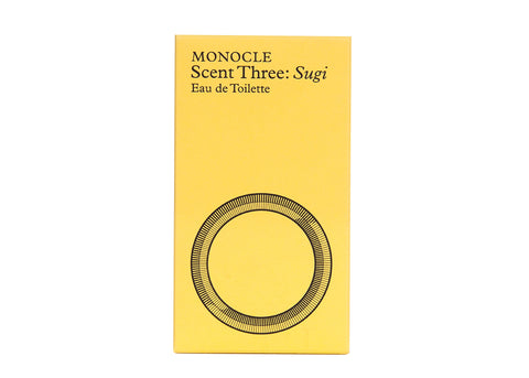 MONOCLE SCENT THREE SUGI