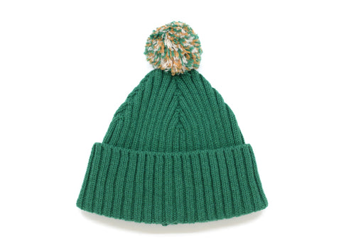 RIB BOBBLE HAT