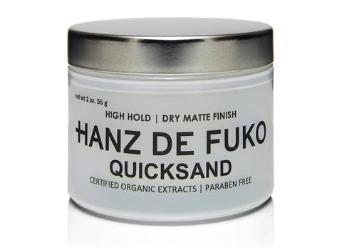 QUICKSAND 2OZ HIGH HOLD DRY MATTE FINISH