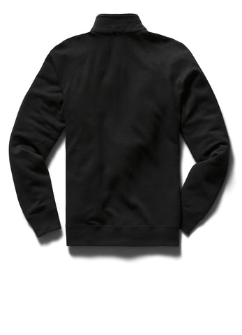 MERINO TERRY HALF ZIP