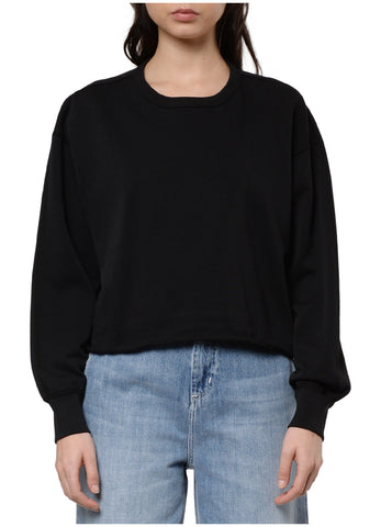 CUT-OFF CREWNECK