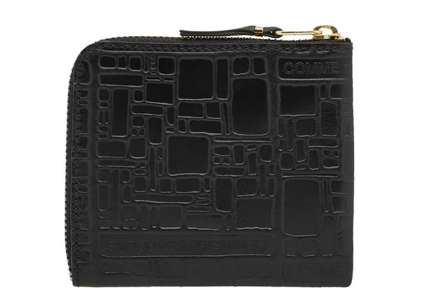 gravitypope - comme des garcons WALLET - WALLET EMBOSSED LOGO - Unisex Accessories