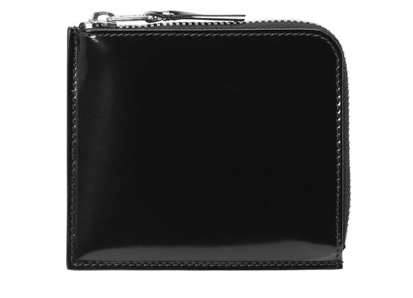MIRROR INSIDE HALF-ZIP AROUND WALLET