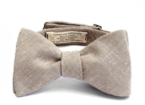 SALT AND PEPPER BOW TIE