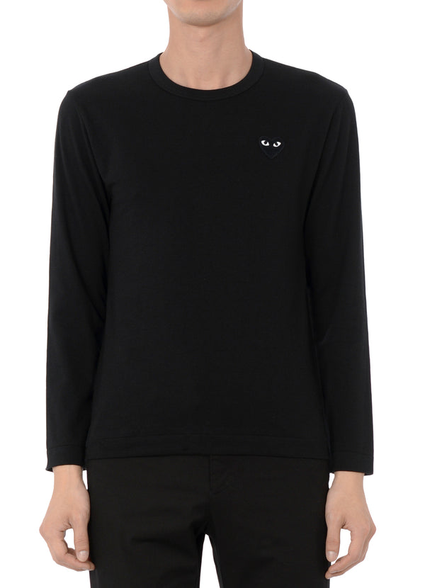 gravitypope - comme des garcons PLAY - T120-BLK - Mens Clothing