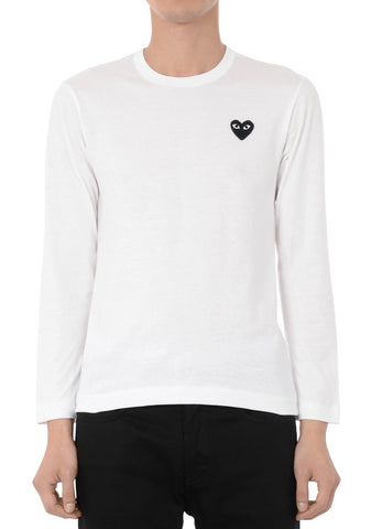 gravitypope - comme des garcons PLAY - T120-WHT - Mens Clothing