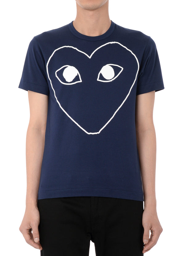 gravitypope - comme des garcons PLAY - T182-NVY - Mens Clothing