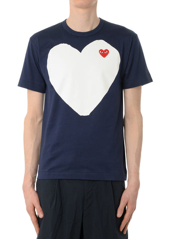 gravitypope - comme des garcons PLAY - T184-NVY - Mens Clothing