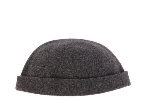 BOILED WOOL TOQUE