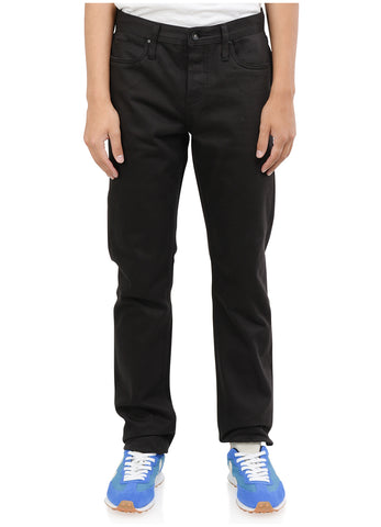 SKINNY FIT 12.5OZ BLACK SELVEDGE CHINO