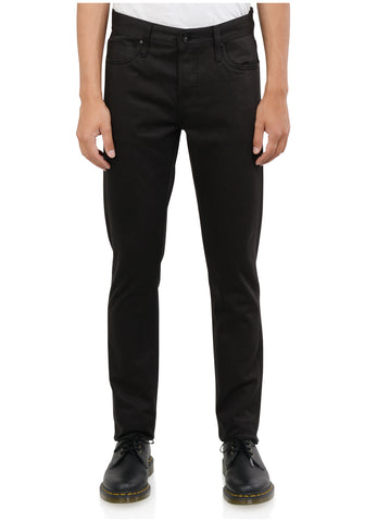 TIGHT FIT 12.5OZ BLACK SELVEDGE CHINO