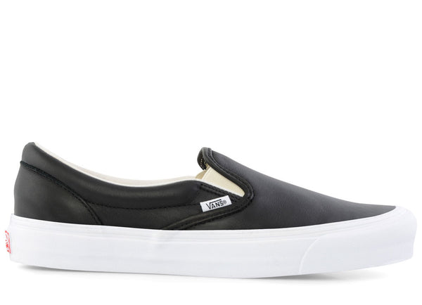 gravitypope - vans vault - OG CLASSIC SLIP-ON LX (leather) - Unisex Footwear