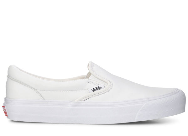 8052e8306cc5 gravitypope - vans vault - OG CLASSIC SLIP-ON LX (leather) - Unisex