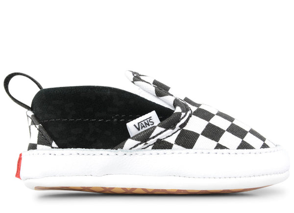 gravitypope - vans - INFANT CHECK SLIP-ON V (canvas and suede) - Childrens Footwear