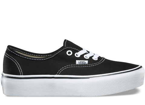 gravitypope - vans - AUTHENTIC PLATFORM (canvas) - Womens Footwear